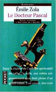 Cover of: Le docteur Pascal