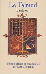 Cover of: Le Talmud, tome 1