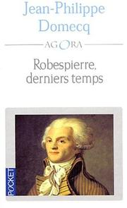 Cover of: Robespierre