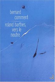 Cover of: Roland Barthes