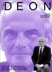 Cover of: Michel Déon