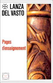 Cover of: Pages d'enseignement