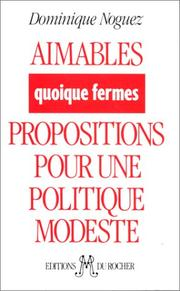 Cover of: Aimables, quoique fermes