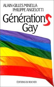 Cover of: Générations gay