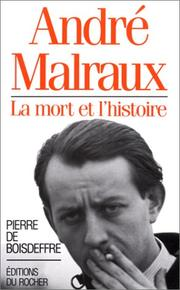 Cover of: André Malraux