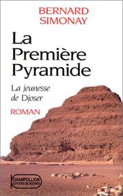 Cover of: La jeunesse de Djoser