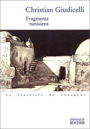 Cover of: Fragments tunisiens