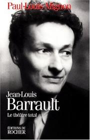 Cover of: Jean-Louis Barrault: le thé^atre total