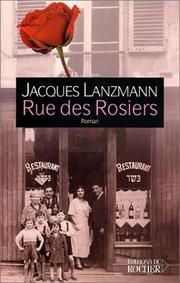 Cover of: Rue des rosiers