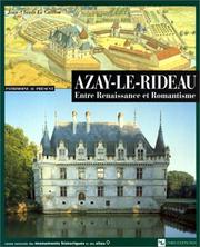 Cover of: Azay-le-Rideau