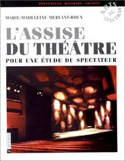 Cover of: L' assise du théâtre