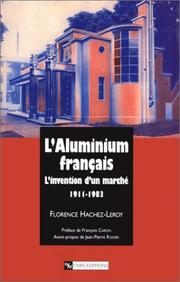 Cover of: L' Aluminium français