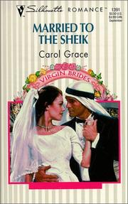 Cover of: Married To The Sheik  (Virgin Bride) | Grace [undifferentiated]