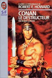 Cover of: Conan le destructeur