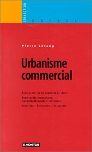 Cover of: Urbanisme commercial