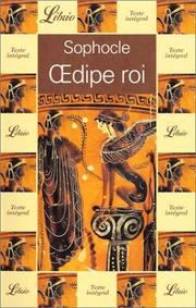 Cover of: Oedipe roi