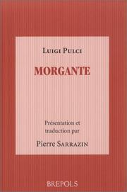 Cover of: Morgante