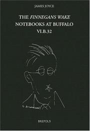"Cover of: The ""Finnegans wake"" notebooks at Buffalo"
