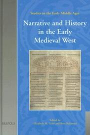 Cover of: Narrative and history in the early medieval West by