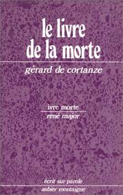 Cover of: Le livre de la morte