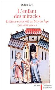Cover of: L' enfant des miracles