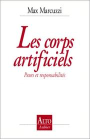 Cover of: Les corps artificiels