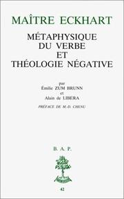 Cover of: Maître Eckhart