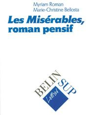Cover of: Les misérables, roman pensif
