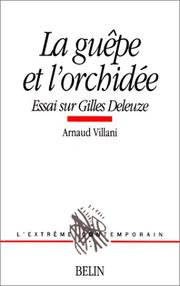 Cover of: La guêpe et l'orchidée