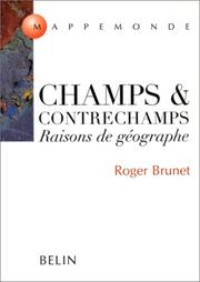 Cover of: Champs & contrechamps