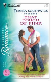 Cover of: That Touch Of Pink