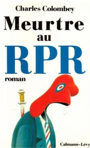 Cover of: Meurtre au RPR