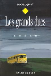 Cover of: Les grands ducs