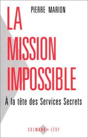 Cover of: La mission impossible