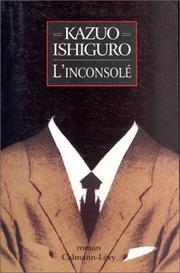 Cover of: L'Inconsolé