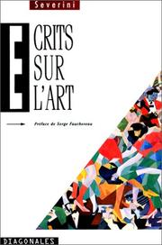 Cover of: Ecrits sur l'art