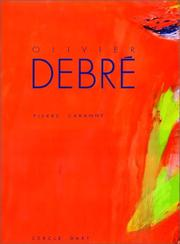 Cover of: Olivier Debré