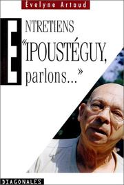 Cover of: Ipoustéguy, parlons--