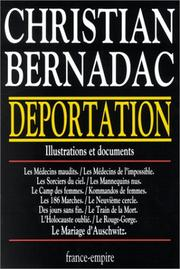 Cover of: Deportation, 1933-1945
