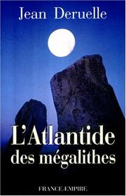 Cover of: L' Atlantide des mégalithes