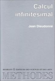 Cover of: Calcul infinitésimal ..