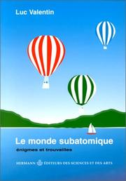 Cover of: Le monde subatomique