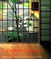 Cover of: Créateurs du Japon