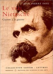 Cover of: Le vrai Nietzsche