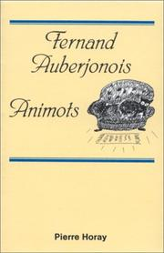 Cover of: Animots