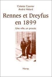 Cover of: Rennes et Dreyfus en 1899