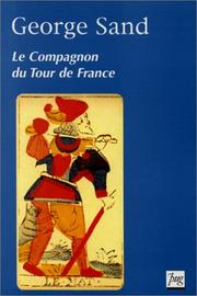 Cover of: Le compagnon du tour de France