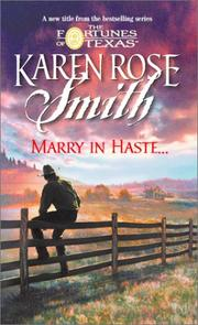 Cover of: Marry In Haste (Continuities Plus)