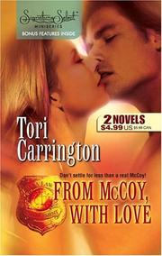 Cover of: From McCoy, With Love: The P.I. Who Loved Her\For Her Eyes Only (Signature Select)