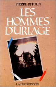 Cover of: Les hommes d'Uriage